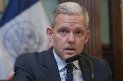 Councilman Jimmy Van Bramer, screenshot from City Council webpage